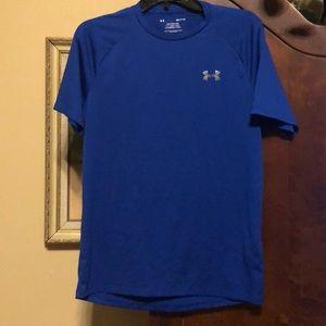 Women's Under armor shirt small nwot  blue